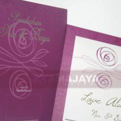 Zoom Cover dan Isi Undangan Sonia - Bayu