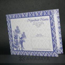 Cover Undangan Pernikahan Anto - Rina