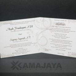 Sisi dalam undangan Pernikahan Asyih Sugeng