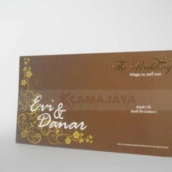 Cover Undangan Fullcolor Evi - Danar