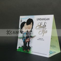 Cover Undangan Photo Karikatur