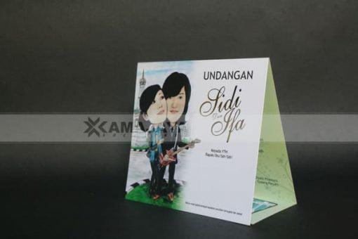 Cover Undangan Photo Karikatur