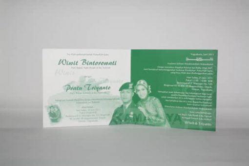 Bagian Dalam Undangan Wiwit - Triyanto