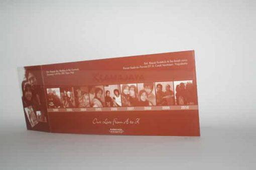 Undangan dengan koleksi photo