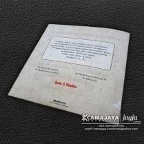 undangan pernikahan krem yoda renitha