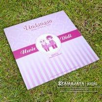 undangan pernikahan murah warna pink