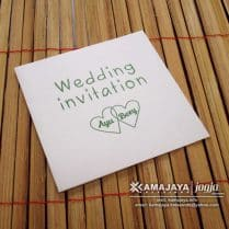 Undangan Pernikahan Warna Putih