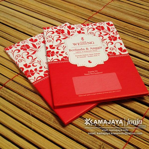 Undangan Pernikahan Hardcover Murah