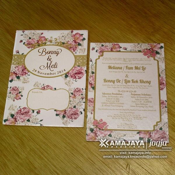 Undangan Single Hardcover Semi Hardcover Single Board