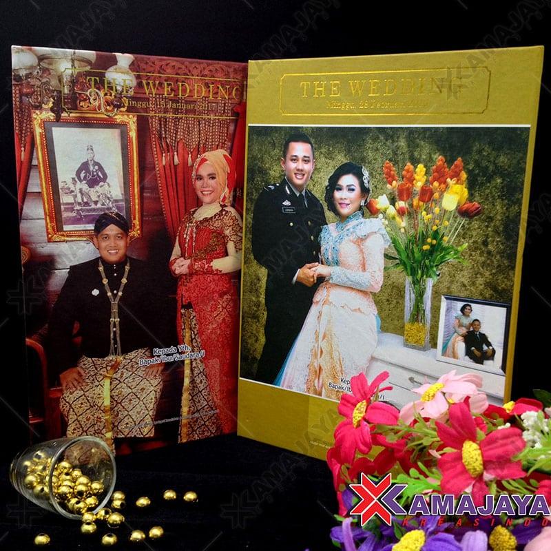 Undangan Hardcover Nuansa Jawa