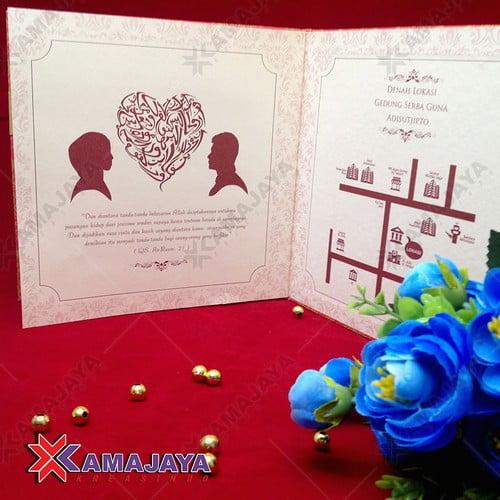 Contoh Undangan Pernikahan Simple Dan Murah