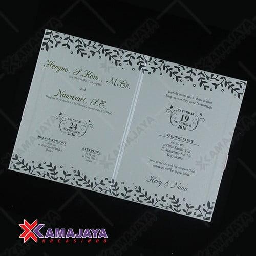 Undangan Pernikahan Murah Dan Unik Harga 1000 Kamajaya Kreasindo