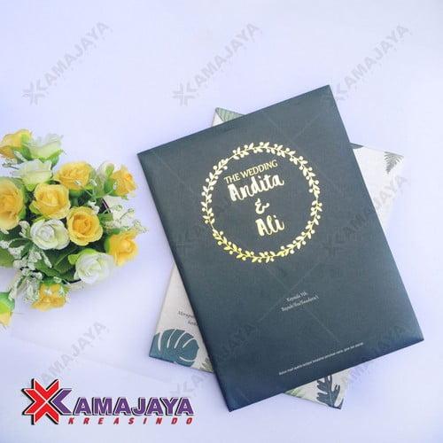 Harga Surat Undangan Pernikahan Unik Kamajaya Kreasindo