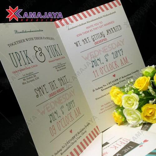 Contoh Desain Undangan Pernikahan Unik Dan Murah