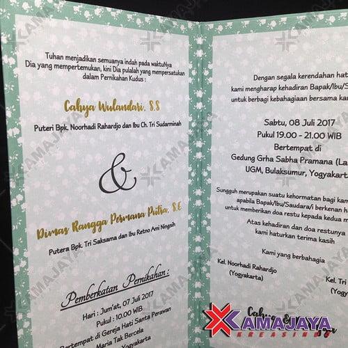 Undangan Pernikahan Hardcover Harga 3000