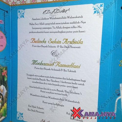 Harga Undangan Pernikahan Murah Kamajaya Kreasindo