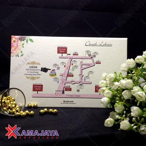Desain Kartu Undangan Pernikahan Elegan