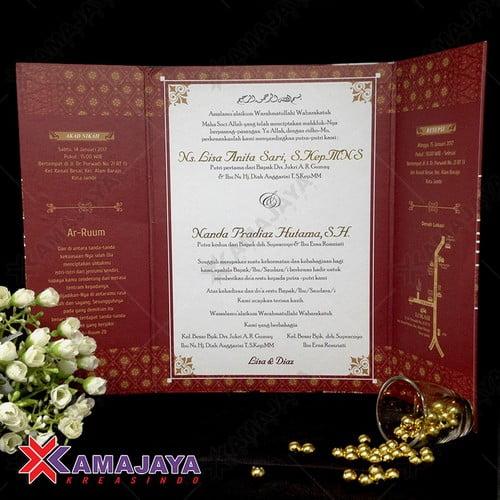 Desain Undangan Pernikahan Minimalis Unik Kamajaya Kreasindo