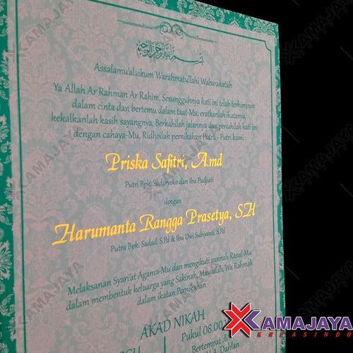 Desain Undangan Pernikahan Minimalis Unik