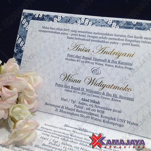 Harga Undangan Pernikahan Unik Dan Murah