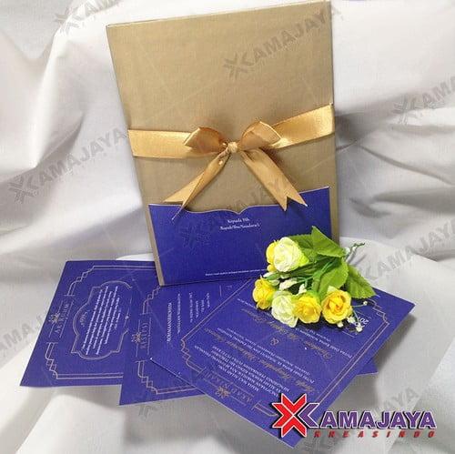 Desain Undangan Pernikahan Simple Dan Elegan