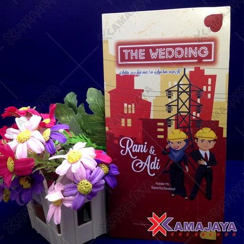 Undangan Pernikahan Bahasa Inggris Kamajaya Kreasindo