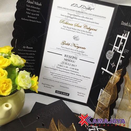 Harga Kartu Undangan Pernikahan Hardcover
