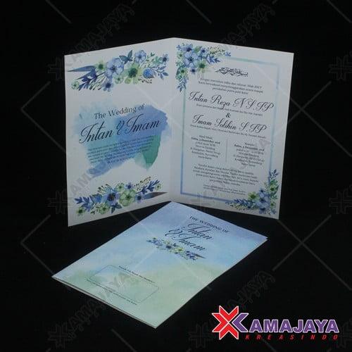 Desain Undangan Pernikahan Simple Dan Elegan Kamajaya Kreasindo