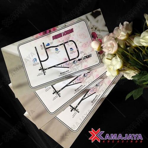 Desain Undangan Pernikahan Simple Elegan