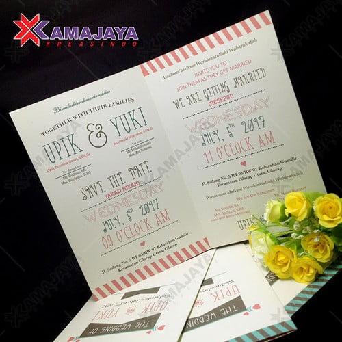Undangan Pernikahan Harga Dibawah 1000 Kamajaya Kreasindo