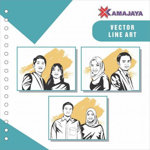 vector line art katalog