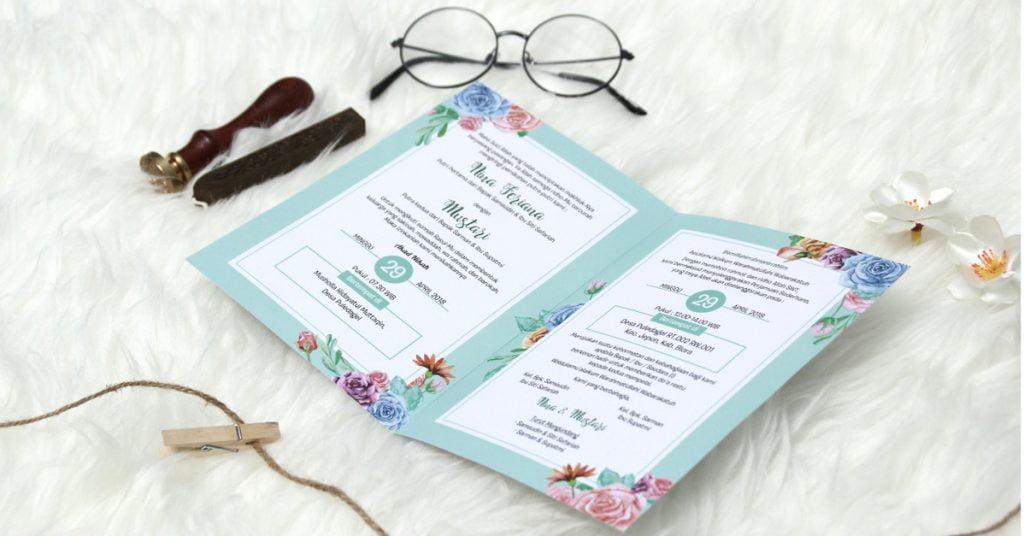 Undangan Pernikahan Softcover